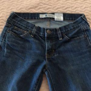 GAP straight Boy Cut Jeans.